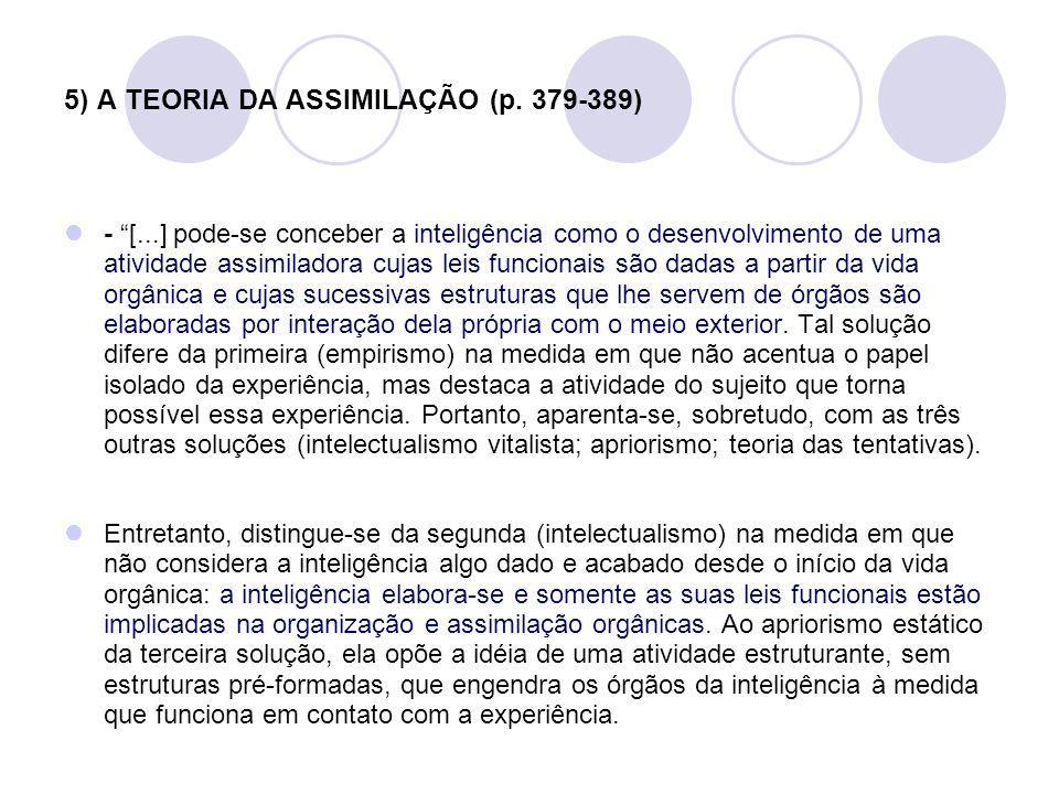 5) A TEORIA DA ASSIMILAÇÃO (p. 379-389)