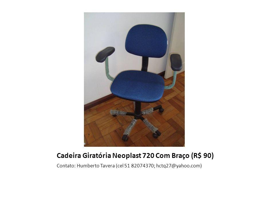 Cadeira Giratória Neoplast 720 Com Braço (R$ 90)