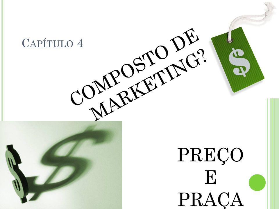 Capítulo 4 COMPOSTO DE MARKETING PREÇO E PRAÇA