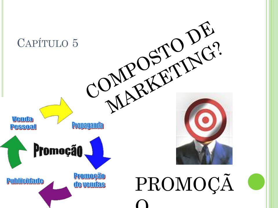 Capítulo 5 COMPOSTO DE MARKETING PROMOÇÃO