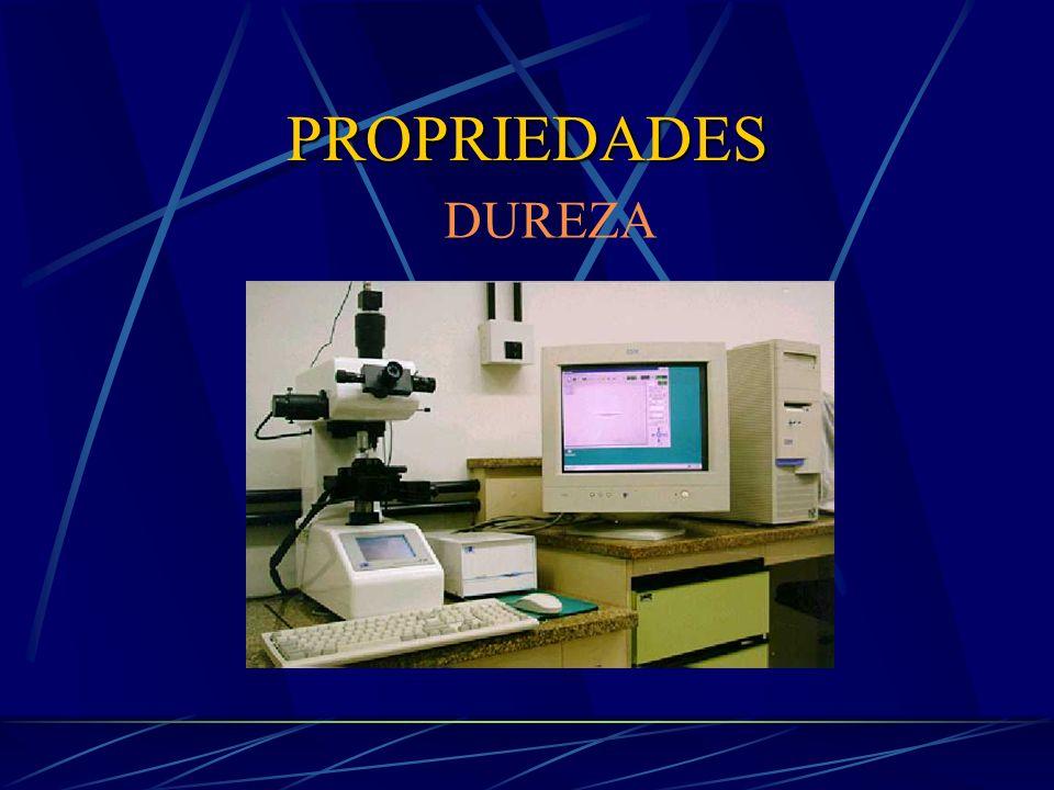 PROPRIEDADES DUREZA