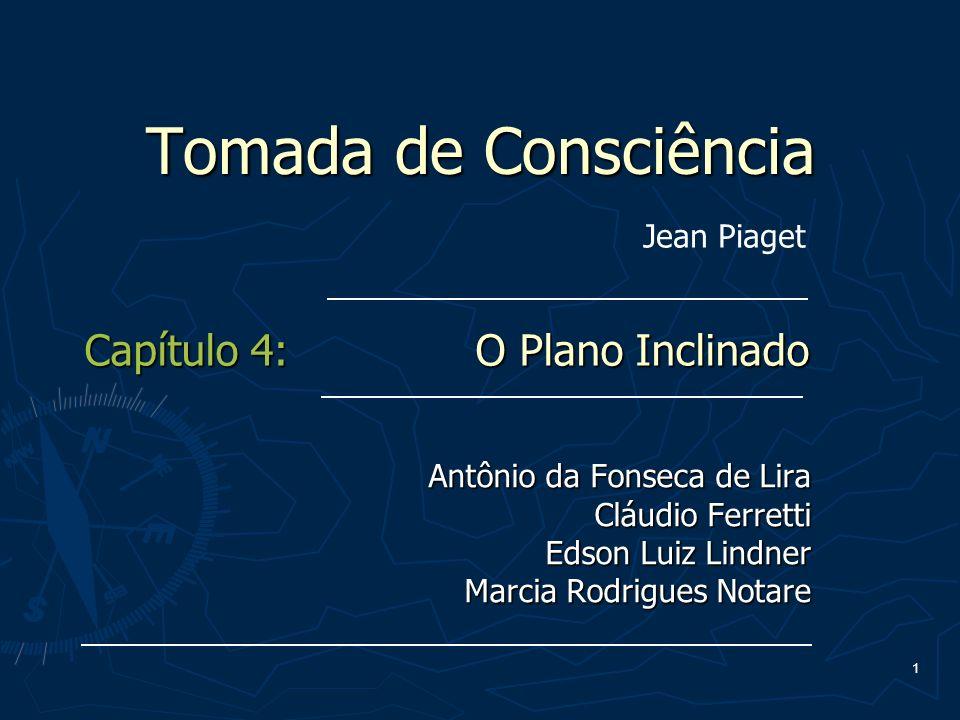 Tomada de Consciência Capítulo 4: O Plano Inclinado Jean Piaget