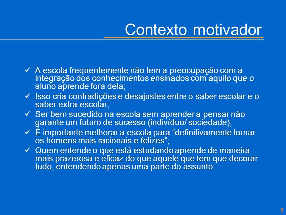 Contexto motivador