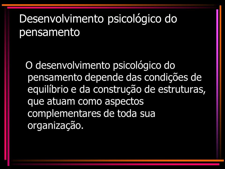 Desenvolvimento psicológico do pensamento