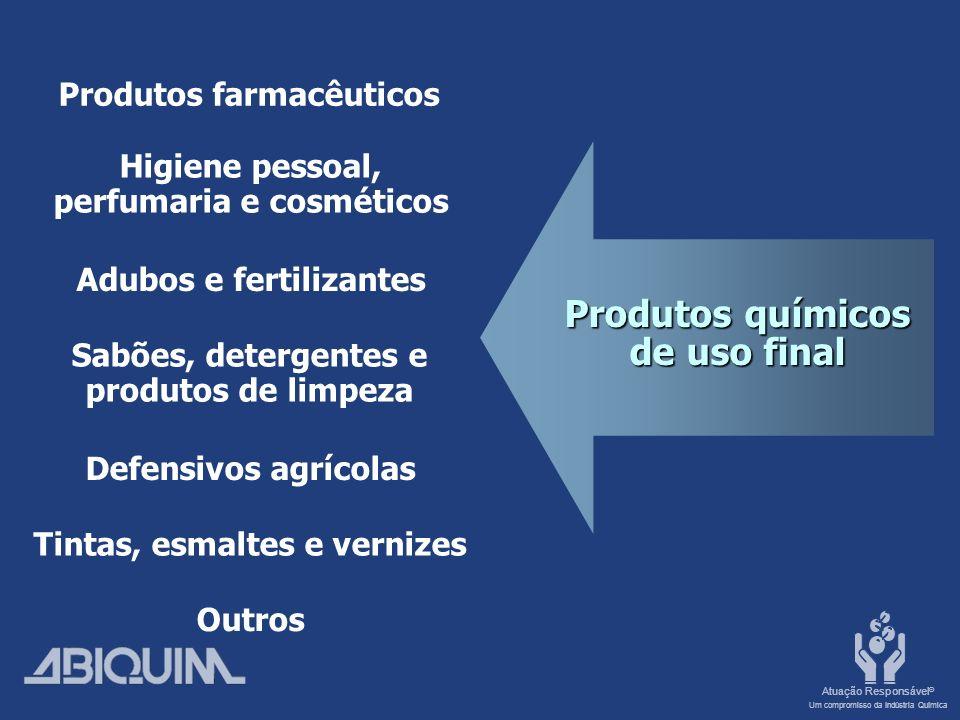 Produtos químicos de uso final