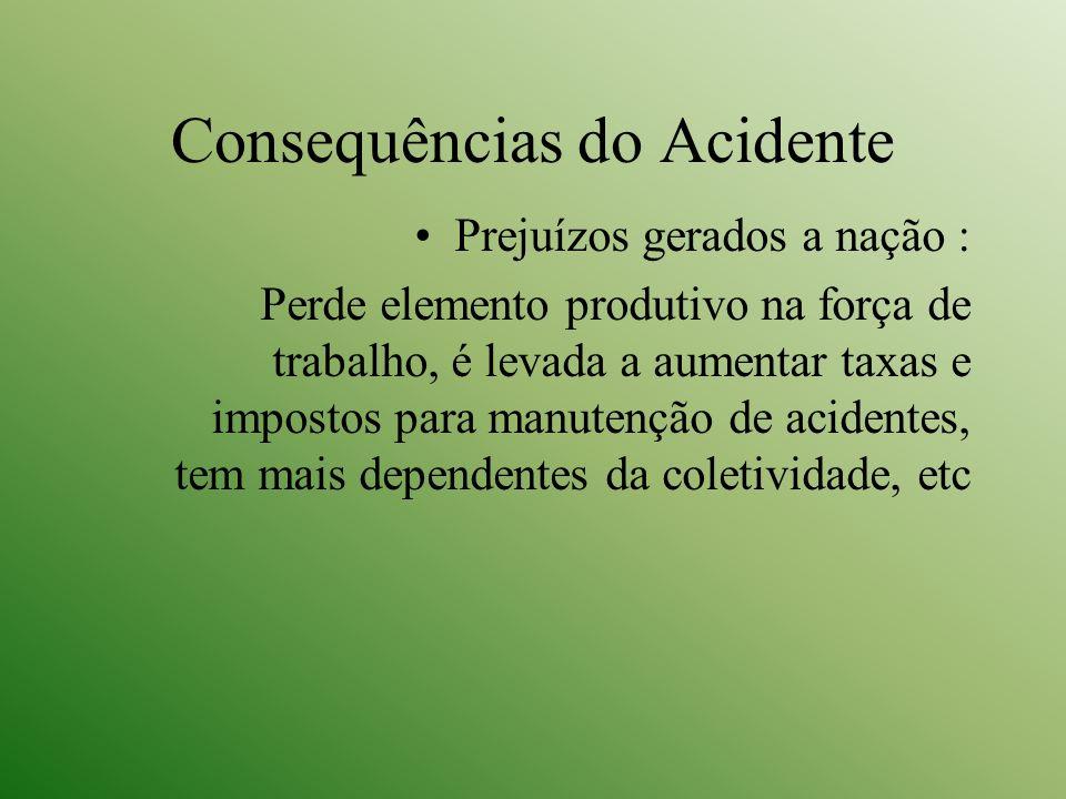 Consequências do Acidente