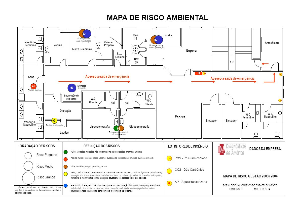 MAPA DE RISCO AMBIENTAL