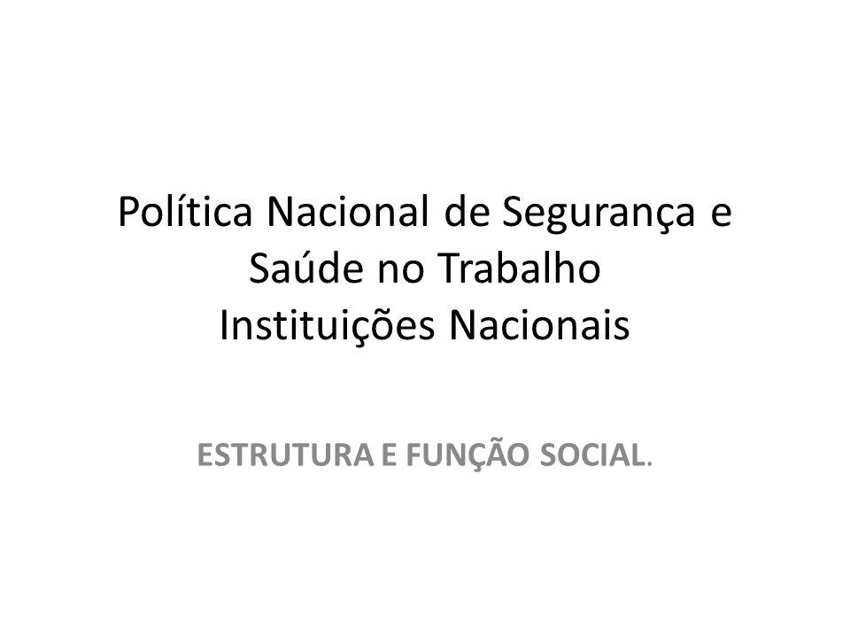ESTRUTURA E FUNÇÃO SOCIAL.