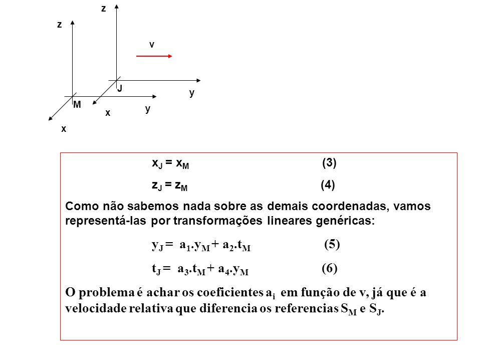 y J. z. x. v. y. M. z. x. xJ = xM (3)