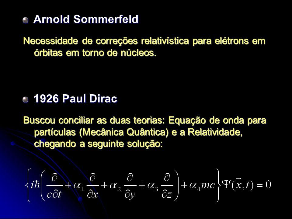 Arnold Sommerfeld 1926 Paul Dirac