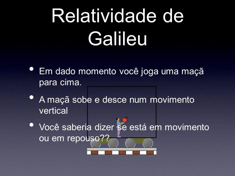 Relatividade de Galileu