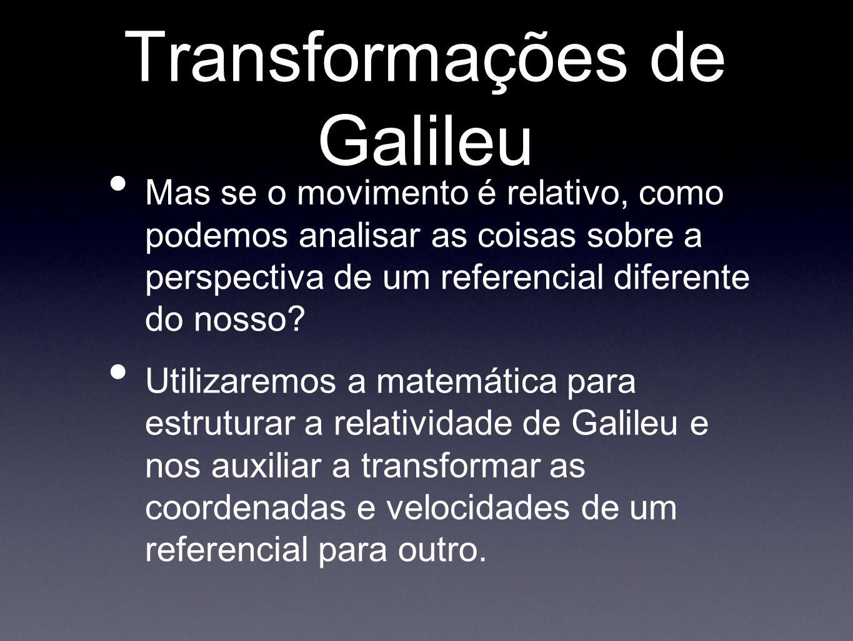 Transformações de Galileu