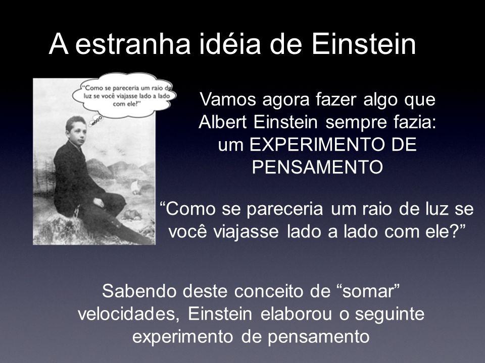 A estranha idéia de Einstein
