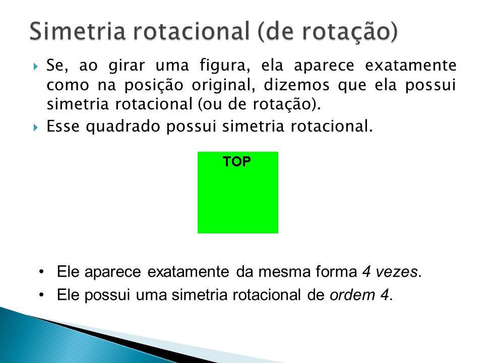 Simetria rotacional (de rotação)