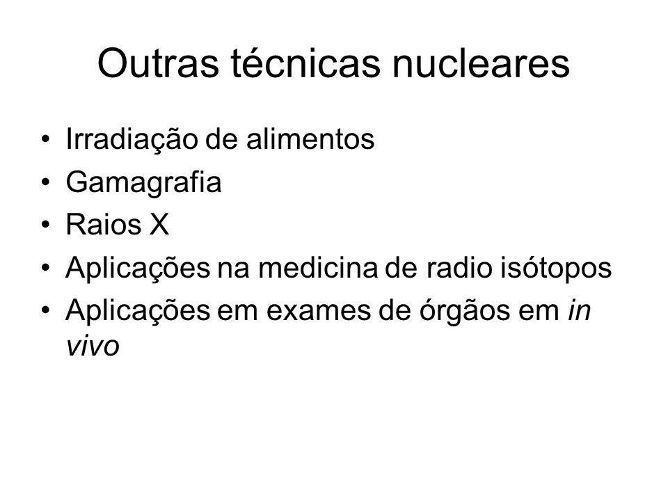 Outras técnicas nucleares