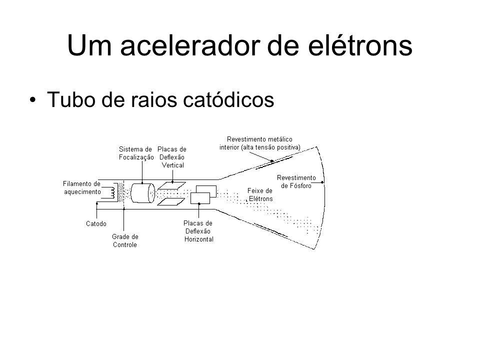 Um acelerador de elétrons