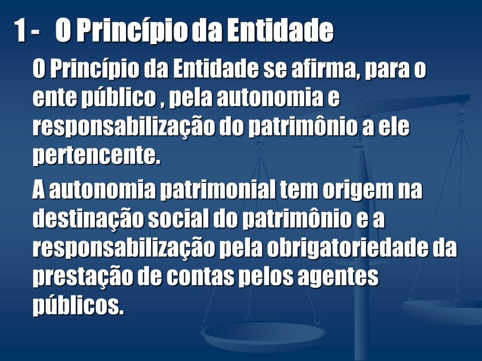 1 - O Princípio da Entidade