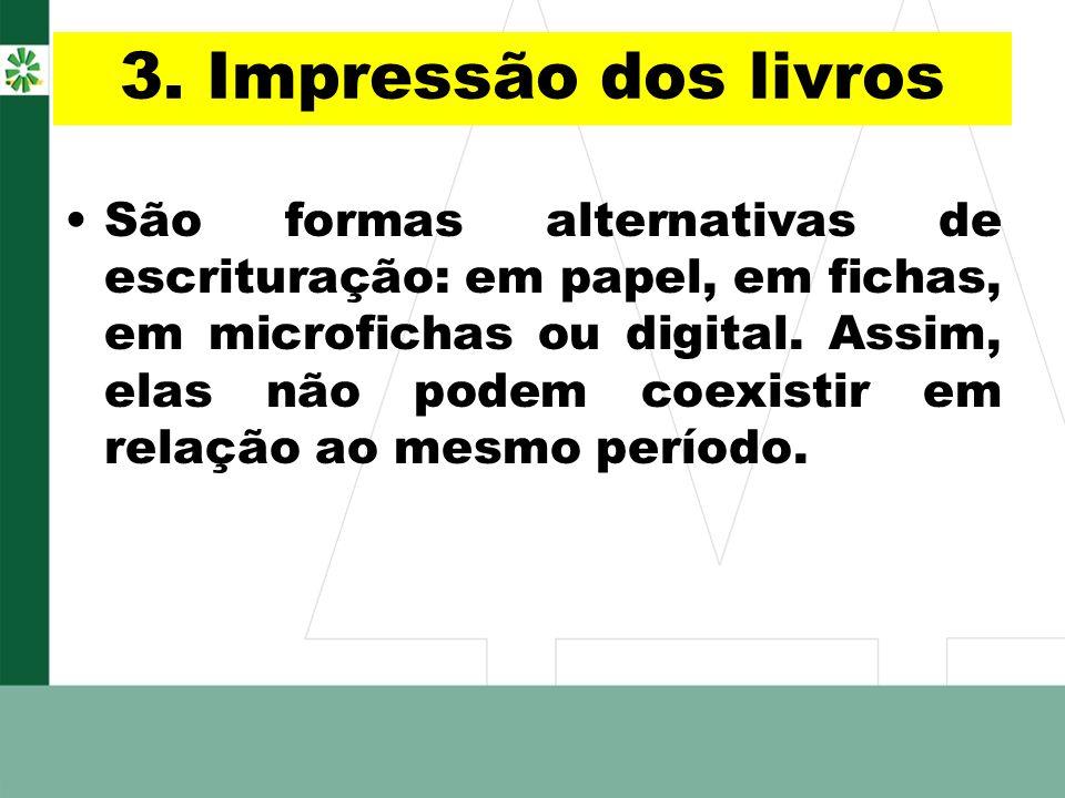 3. Impressão dos livros