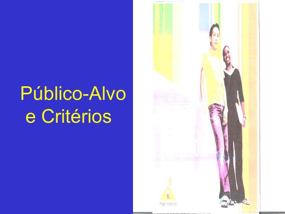 Público-Alvo e Critérios