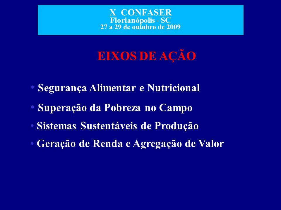 Segurança Alimentar e Nutricional Superação da Pobreza no Campo
