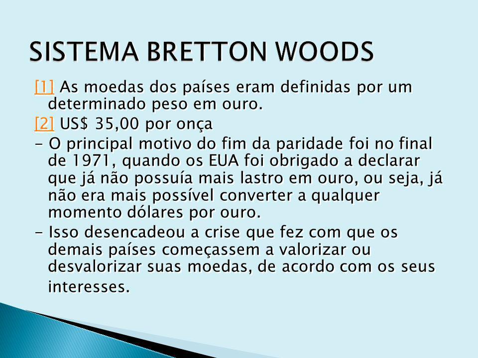 SISTEMA BRETTON WOODS