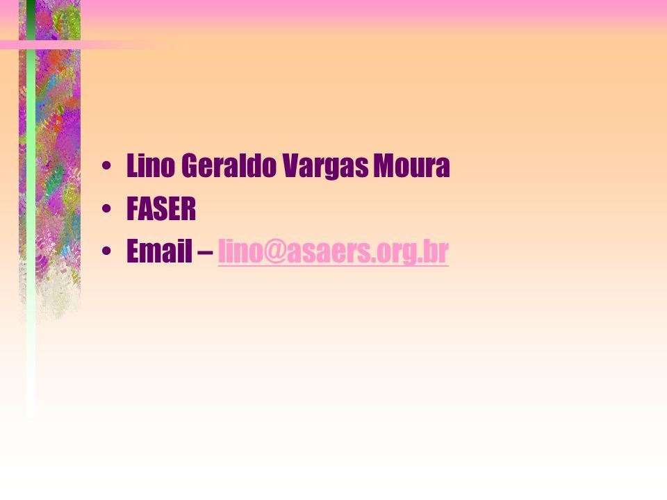 Lino Geraldo Vargas Moura