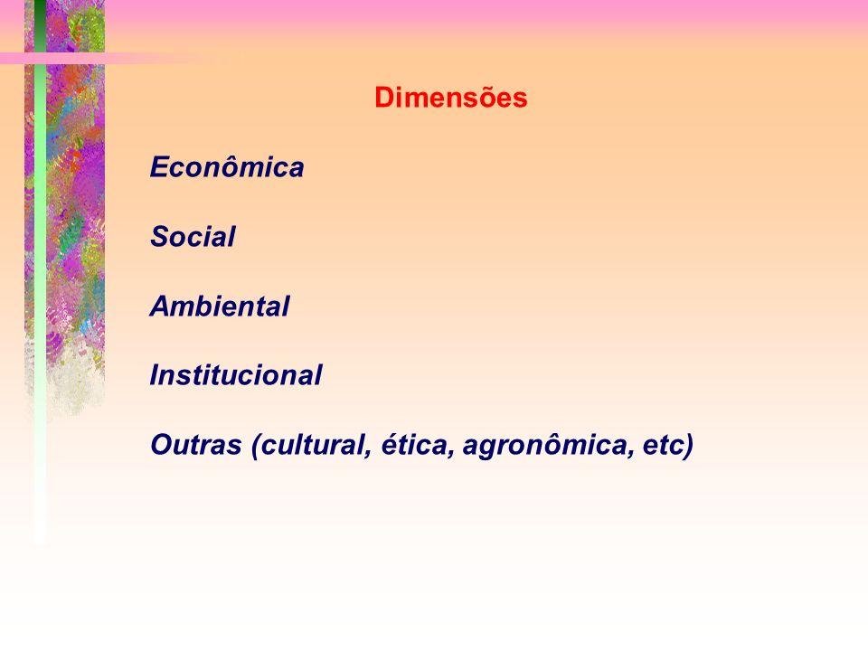 Outras (cultural, ética, agronômica, etc)