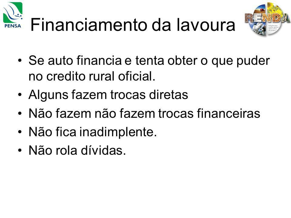 Financiamento da lavoura