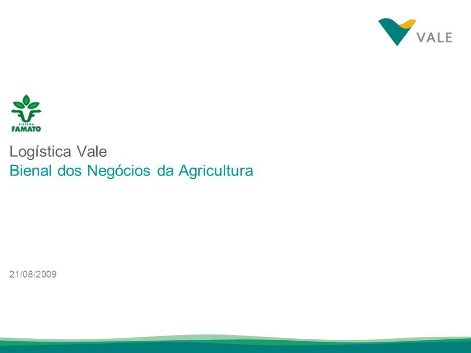 Logística Vale Bienal dos Negócios da Agricultura
