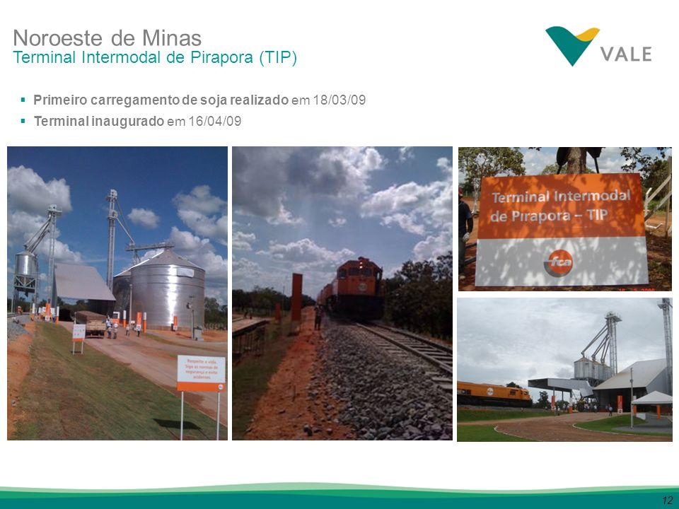 Noroeste de Minas Terminal Intermodal de Pirapora (TIP)