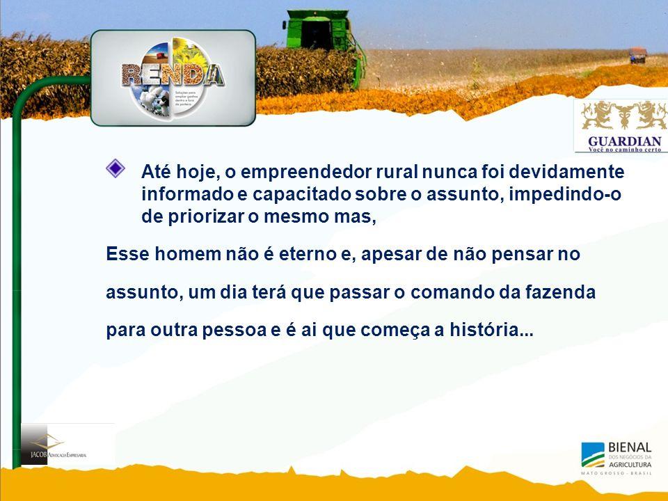 Até hoje, o empreendedor rural nunca foi devidamente informado e capacitado sobre o assunto, impedindo-o de priorizar o mesmo mas,