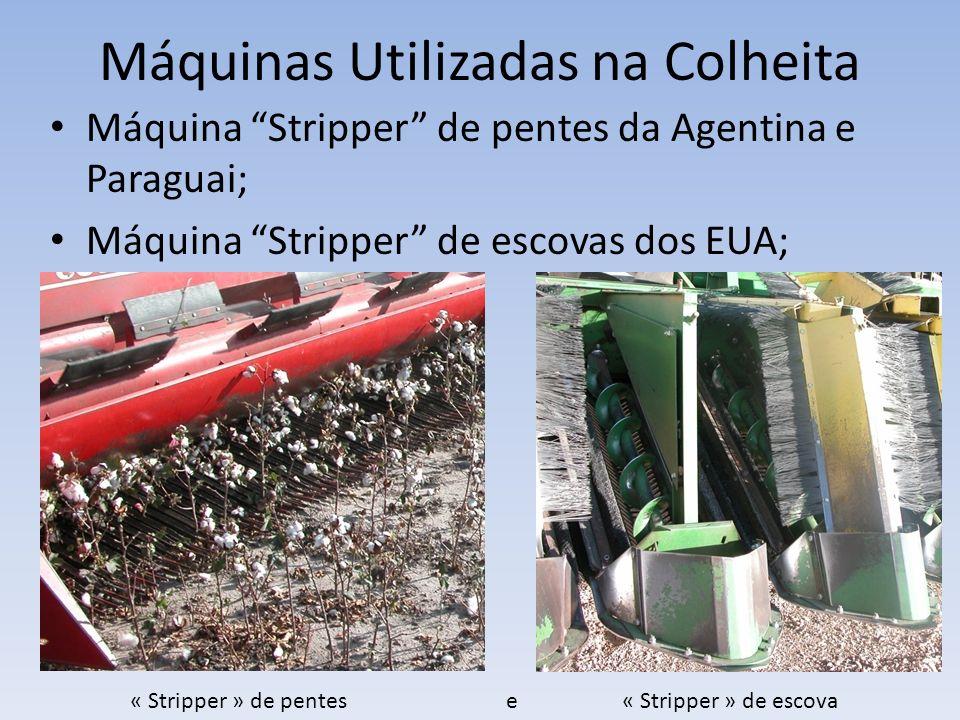Máquinas Utilizadas na Colheita