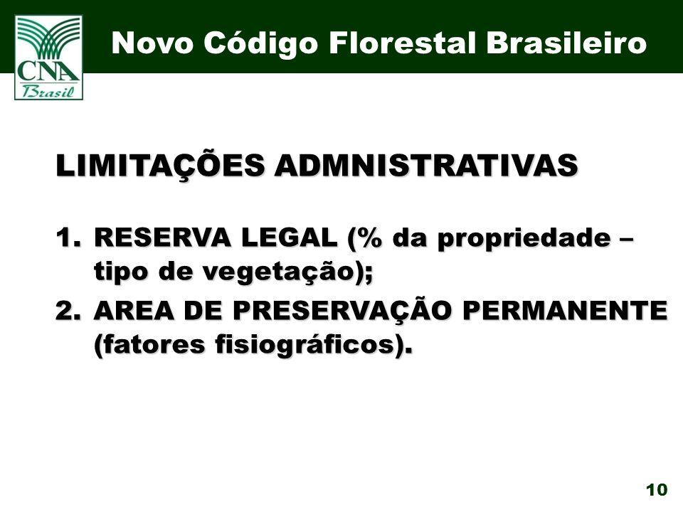 Novo Código Florestal Brasileiro