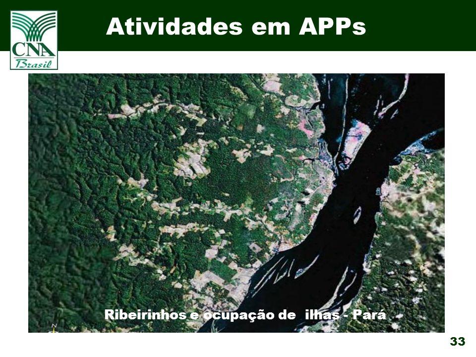 Ribeirinhos e ocupação de ilhas - Pará