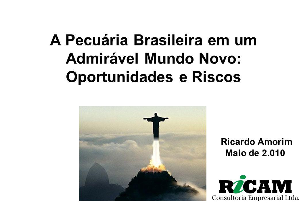 A Pecuária Brasileira em um Admirável Mundo Novo: