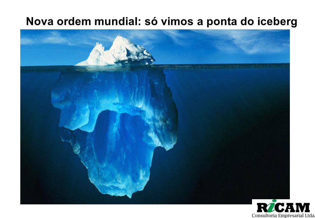 Nova ordem mundial: só vimos a ponta do iceberg