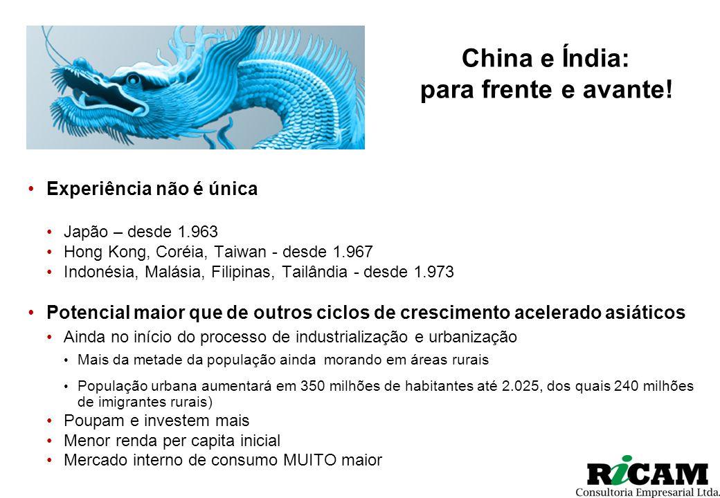 China e Índia: para frente e avante!