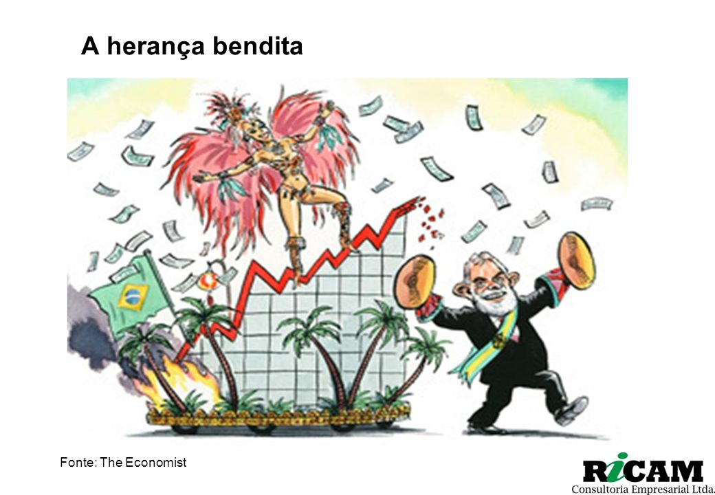A herança bendita Fonte: The Economist