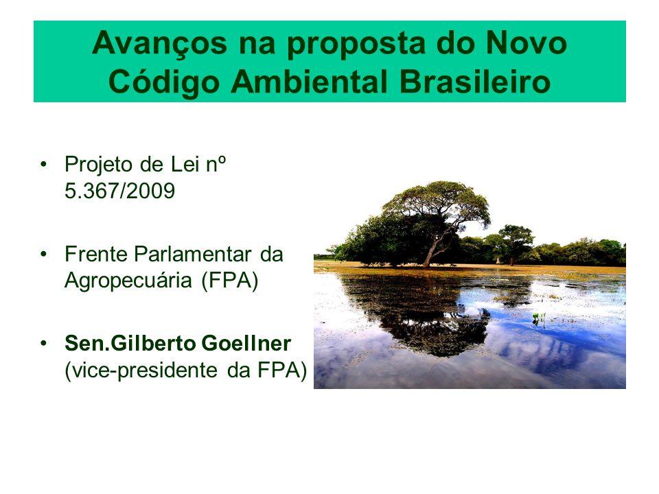 Avanços na proposta do Novo Código Ambiental Brasileiro