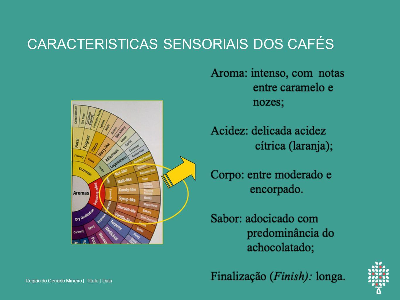 CARACTERISTICAS SENSORIAIS DOS CAFÉS