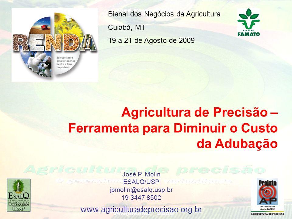 Agricultura de Precisão – Ferramenta para Diminuir o Custo da Adubação