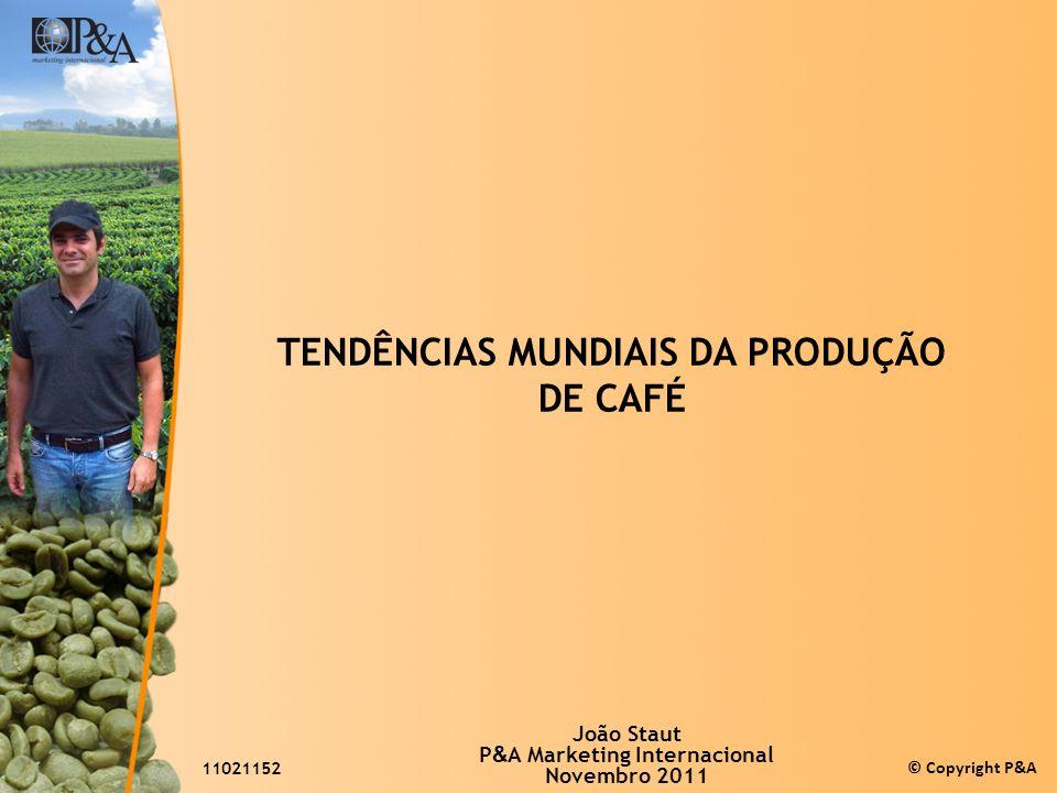 TENDÊNCIAS MUNDIAIS DA PRODUÇÃO DE CAFÉ