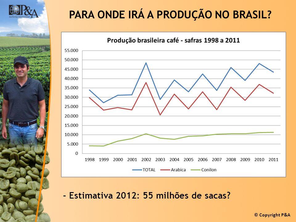 PARA ONDE IRÁ A PRODUÇÃO NO BRASIL
