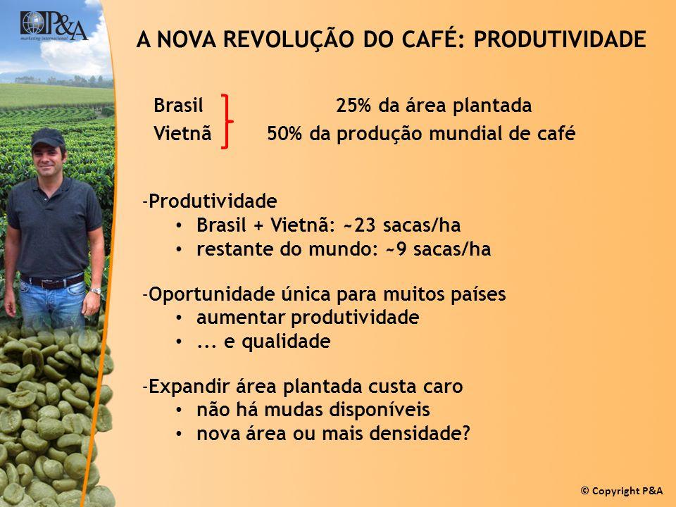A NOVA REVOLUÇÃO DO CAFÉ: PRODUTIVIDADE