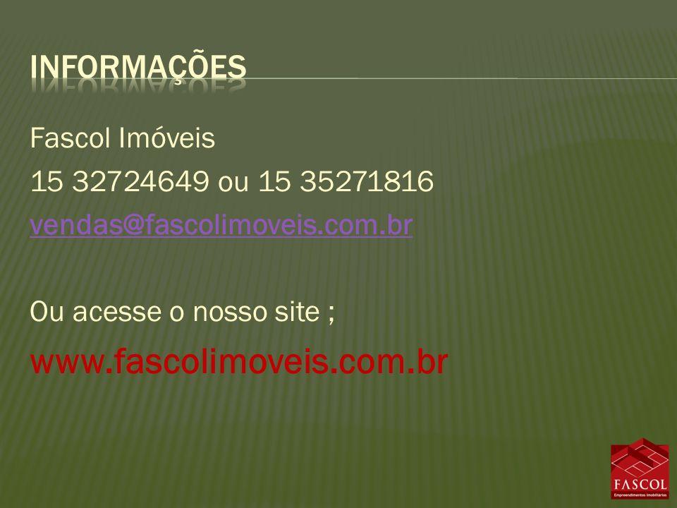 www.fascolimoveis.com.br informações Fascol Imóveis