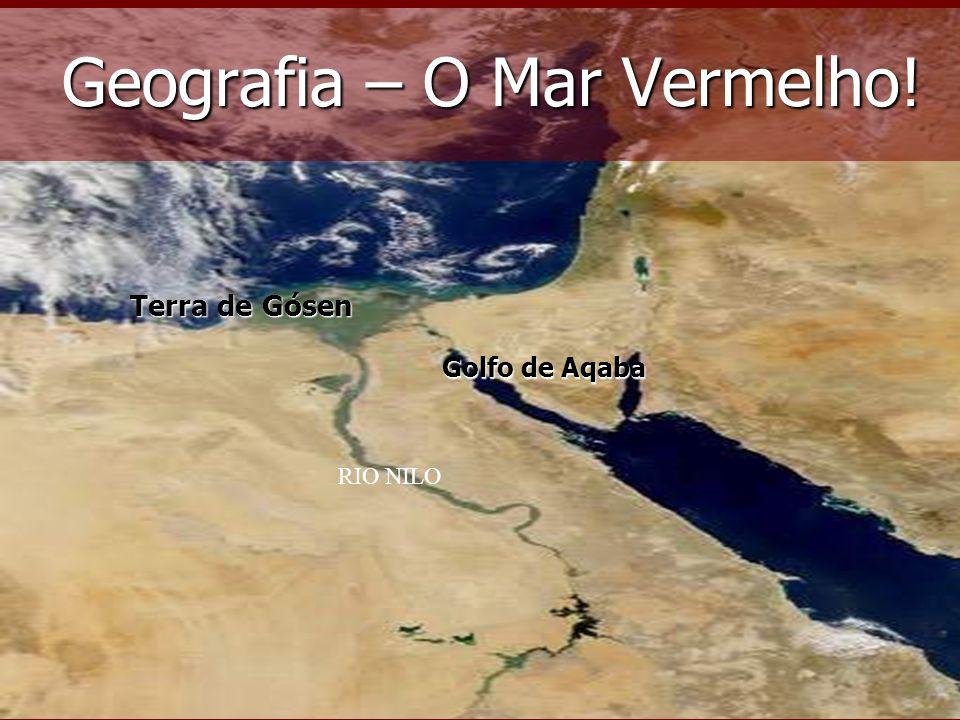 Geografia – O Mar Vermelho!