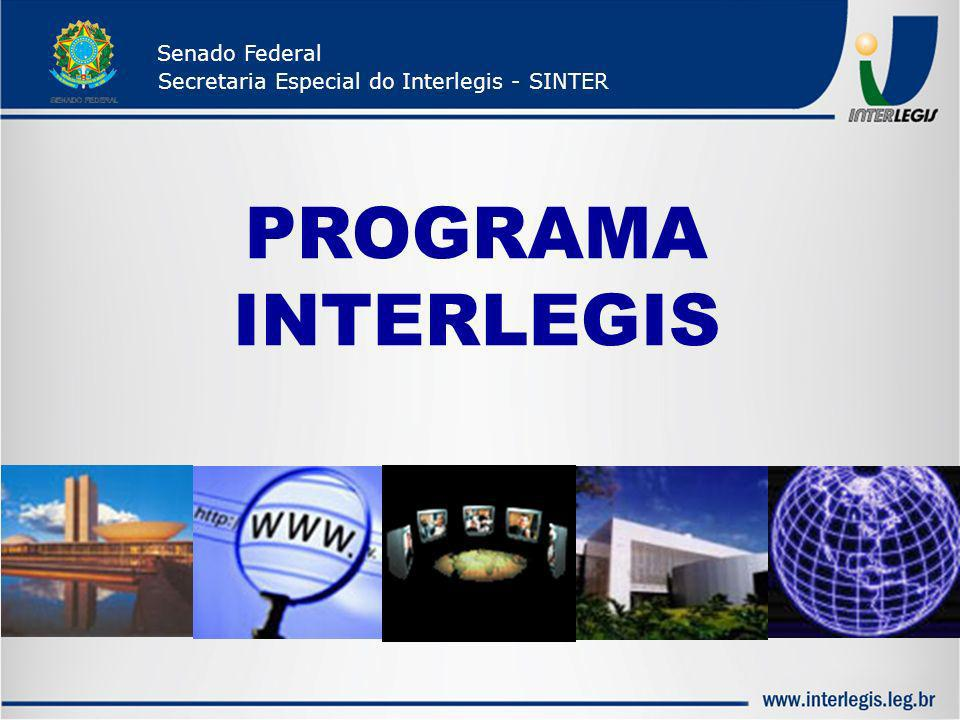 PROGRAMAINTERLEGIS Senado Federal