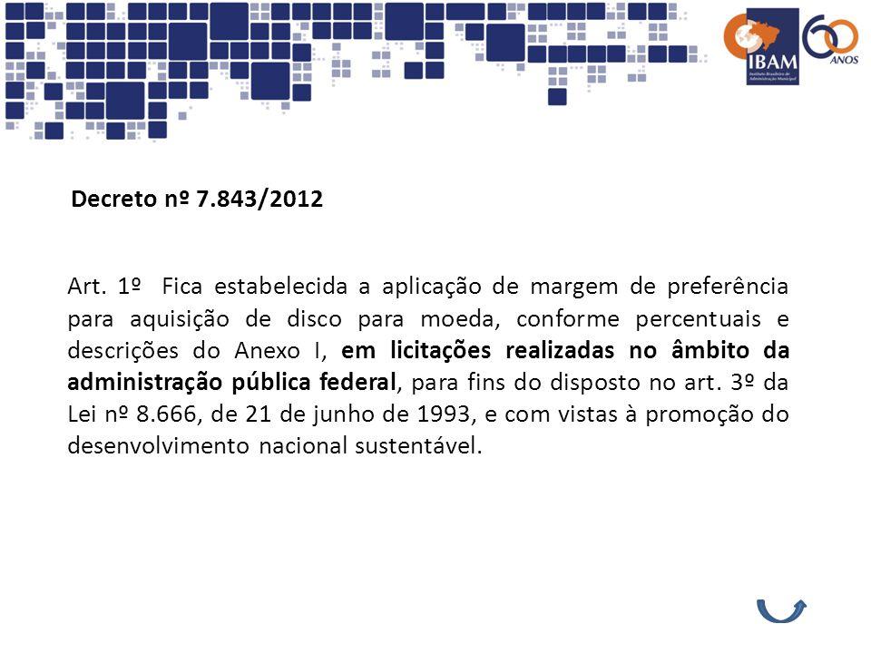 Decreto nº 7.843/2012