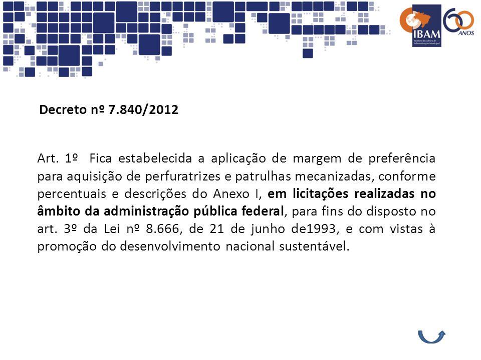 Decreto nº 7.840/2012