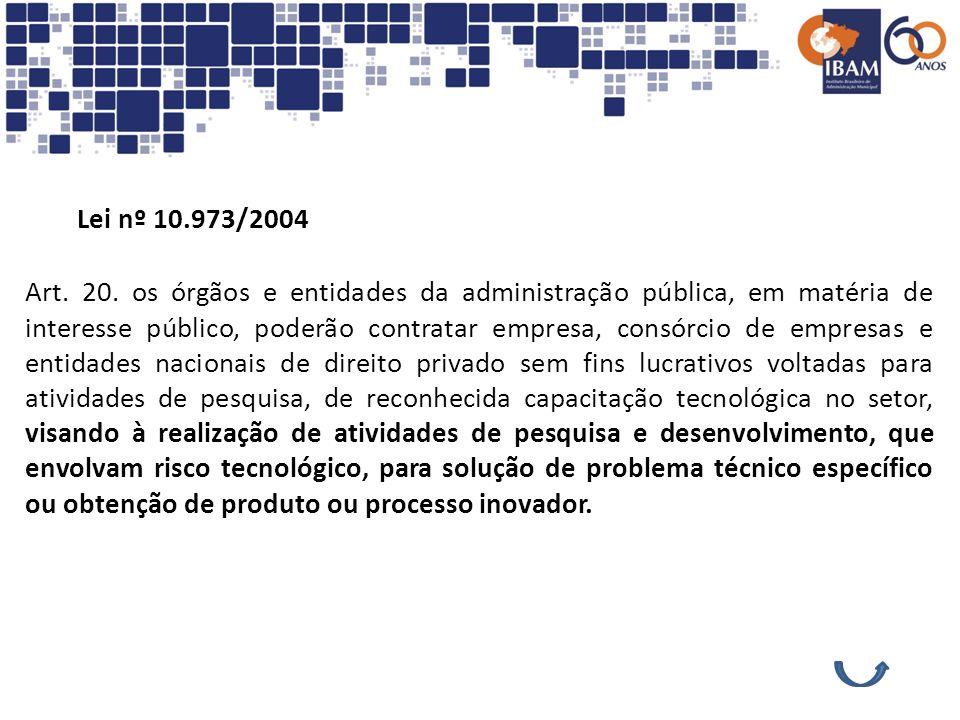 Lei nº 10.973/2004